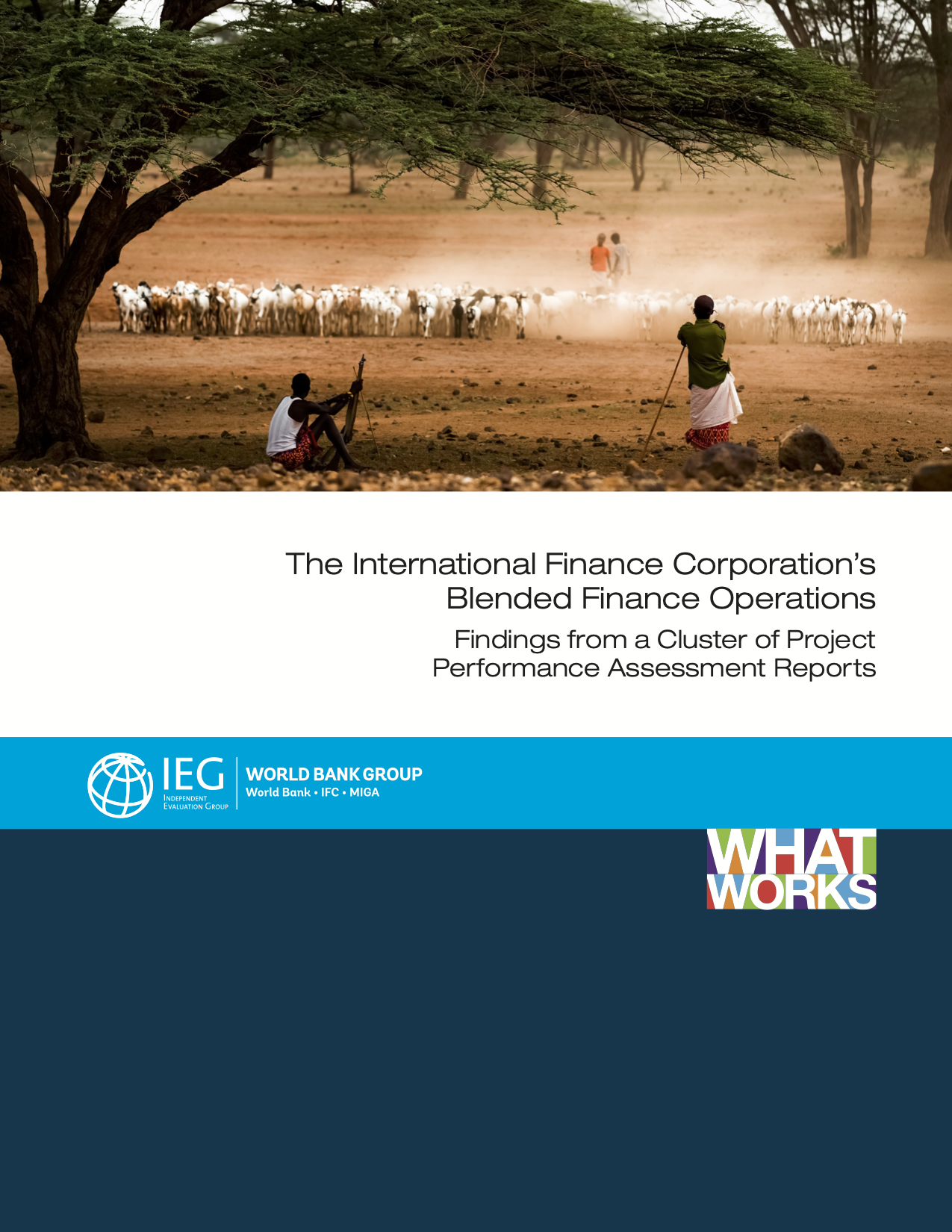 The International Finance Corporation's Blended Finance Operations: Findings from a Cluster of Project Performance Assessment Reports