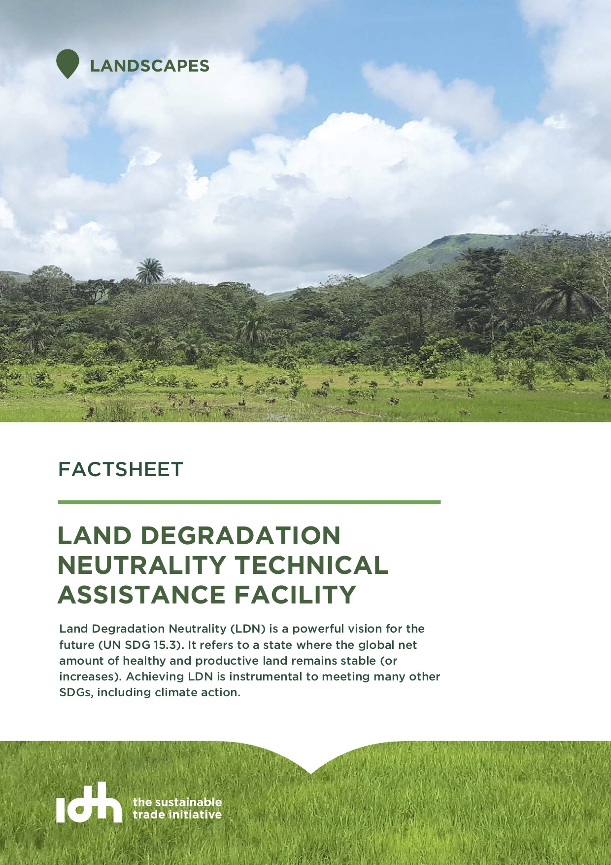 Land Degradation Neutrality Technical Assistance Facility