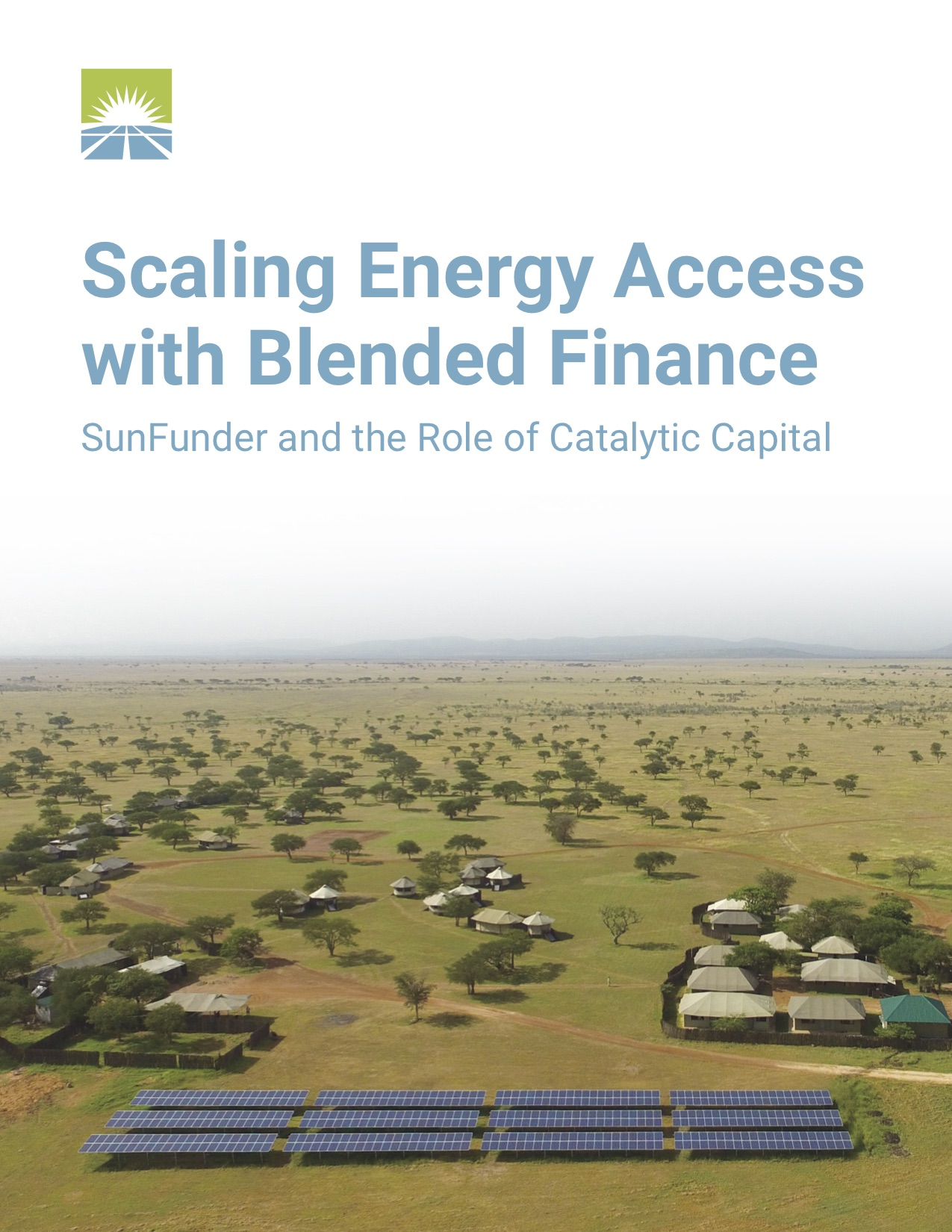 Scaling Energy Access with Blended Finance: SunFunder and the Role of Catalytic Capital