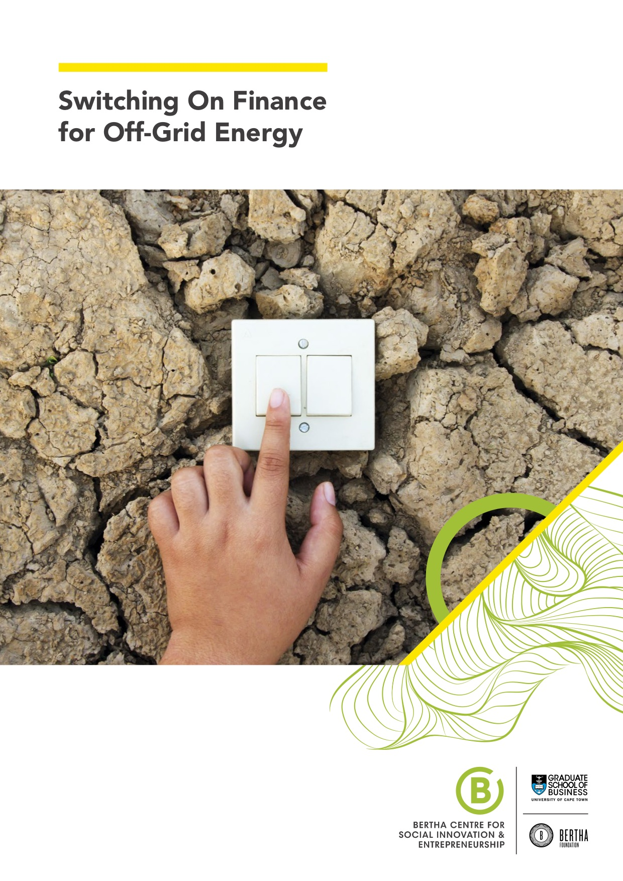 Switching On Finance for Off-Grid Energy