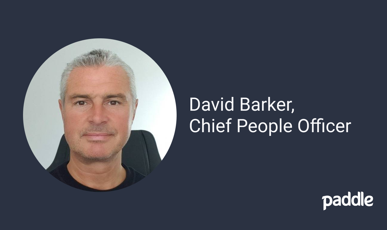 David Barker – Chief People Officer