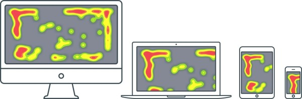 Heatmaps across devices