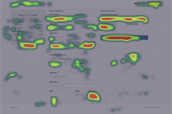 Heatmap color splotches make it hard to read