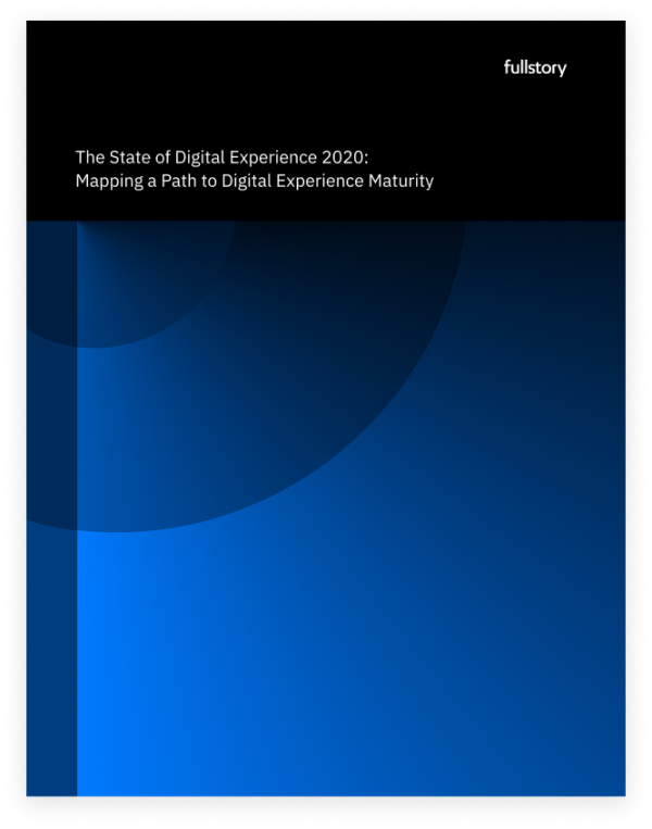 The State of Digital Experience Maturity 2020