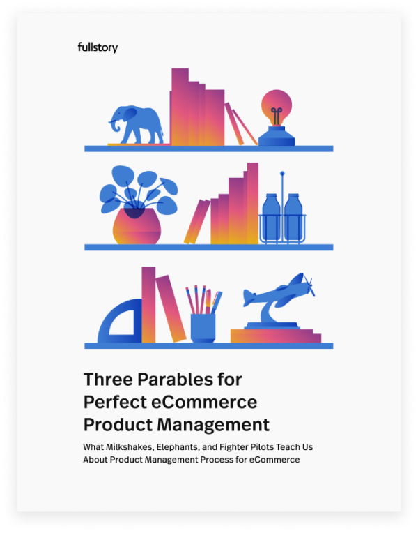 3 parables for perfect ecommerce product management