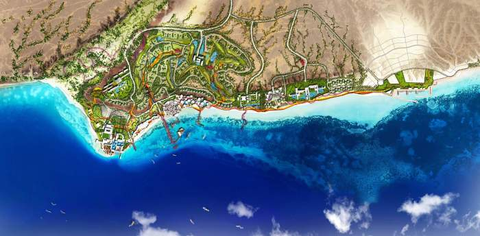 The Coastal Development - Master Plan