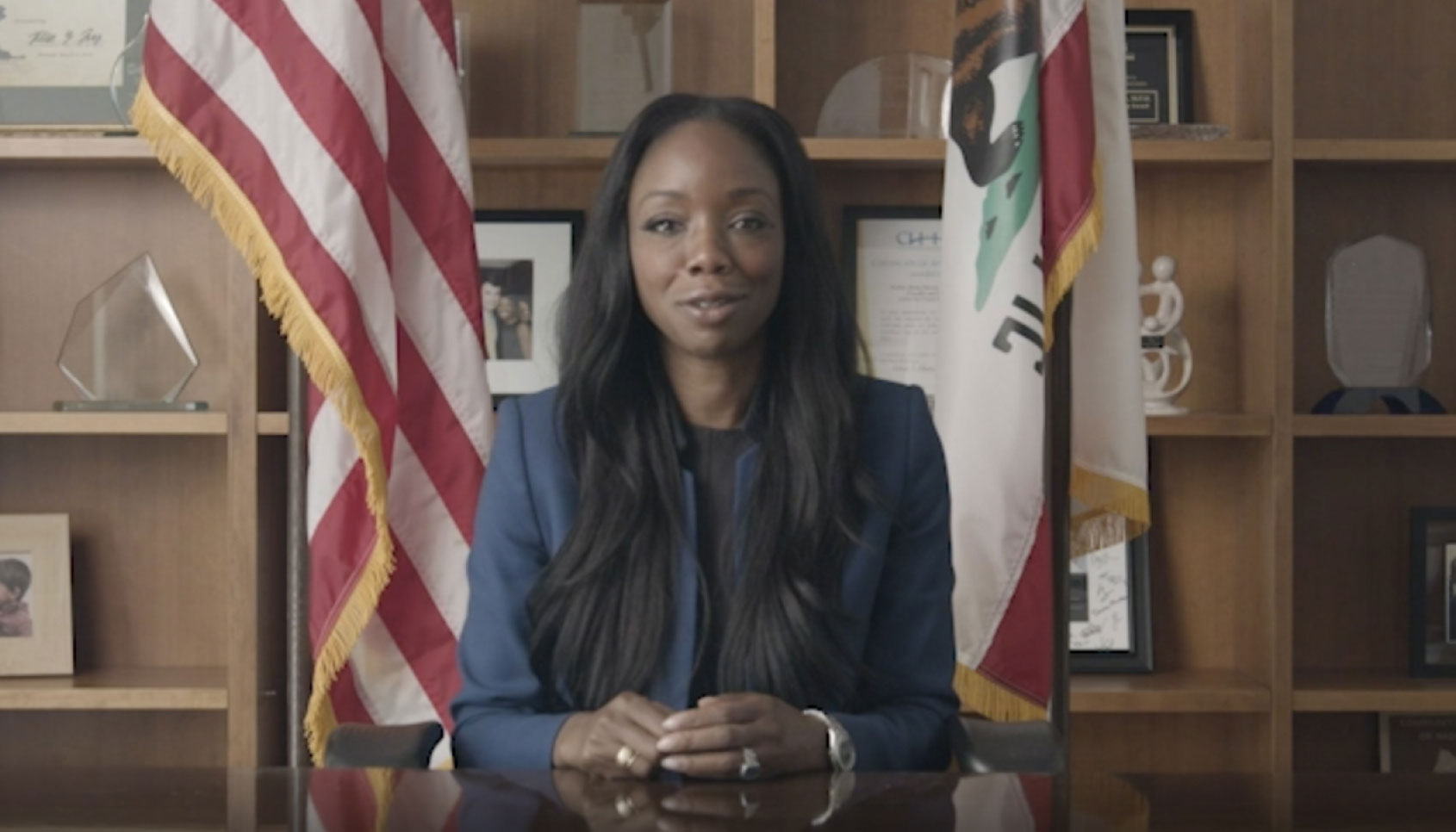 Dr. Nadine Burke Harris, California Surgeon General, speaks about vaccine safety and her choice to get the COVID-19 vaccine.