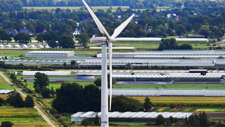 Lition - Windkraftanlage Ochsenwerder