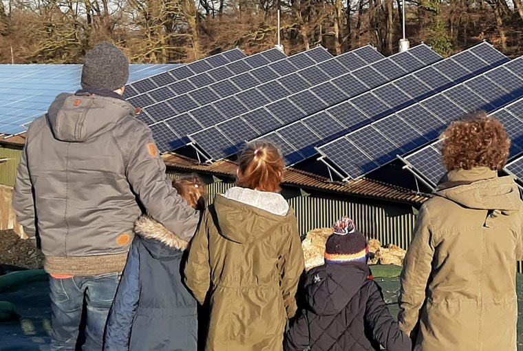 Lition - Solaranlage Familie Nabers