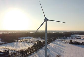 Lition - Windkraftanlage Gronau Epe