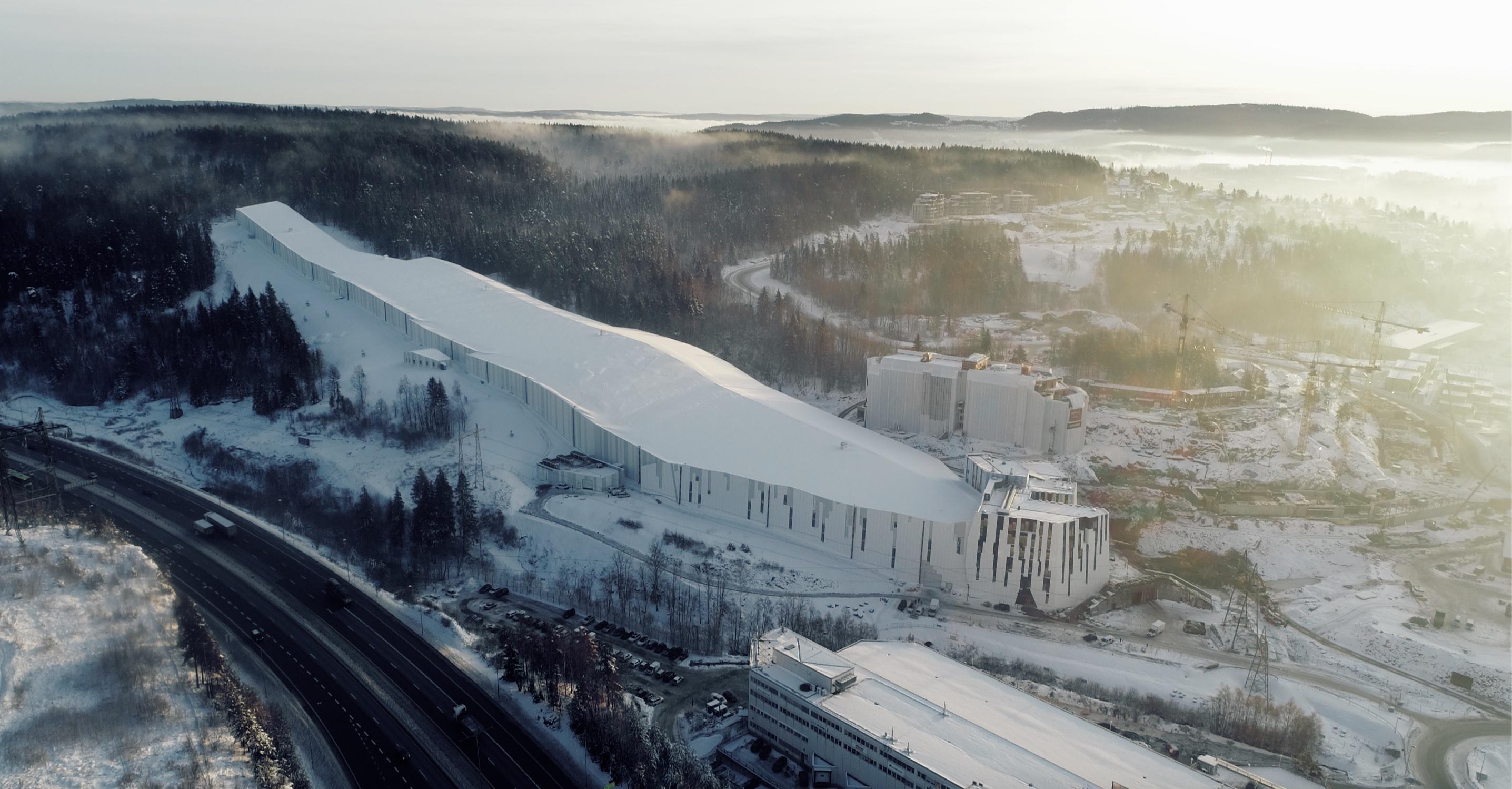 Avbildet: SNØ-bygget