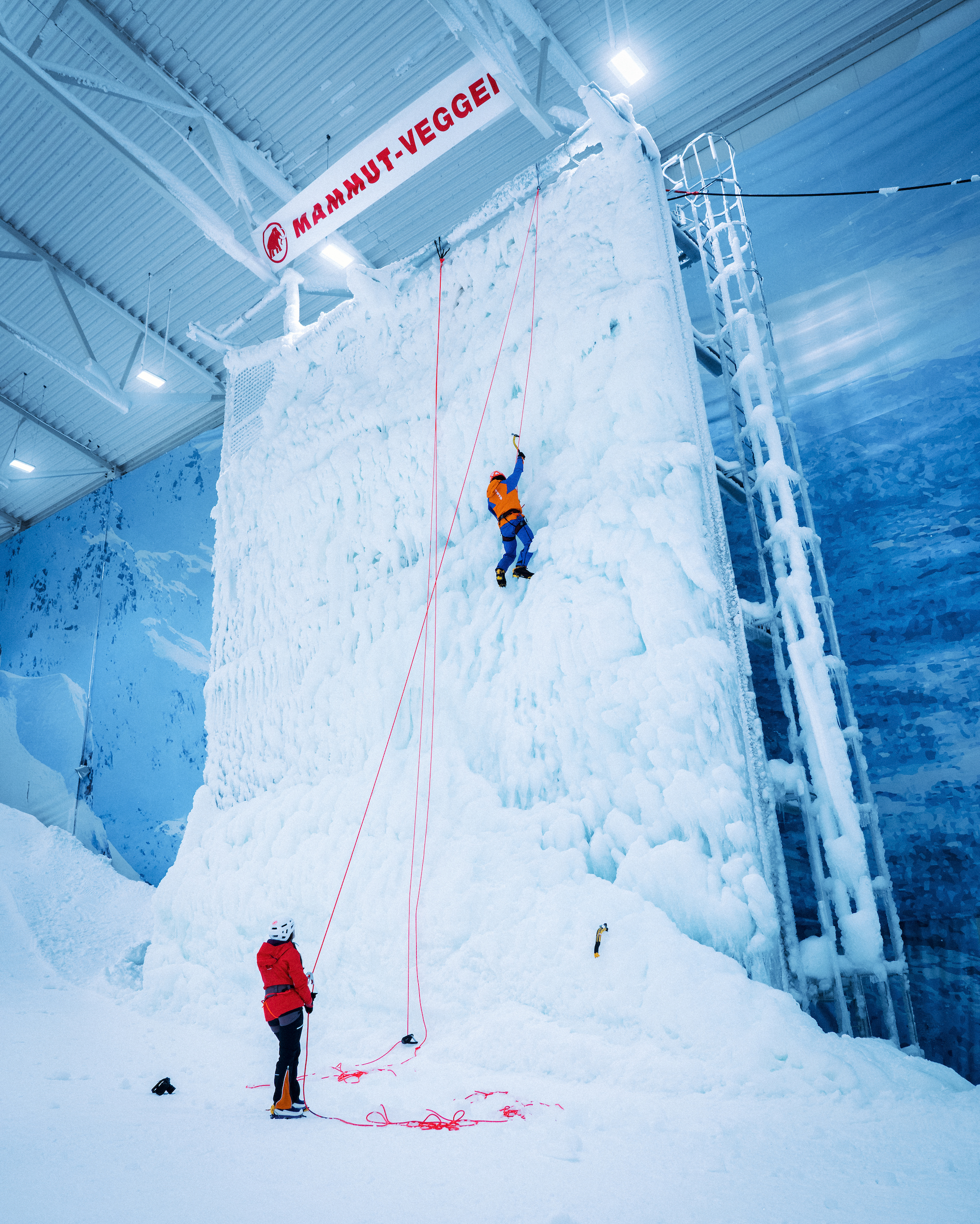 The Mammut wall