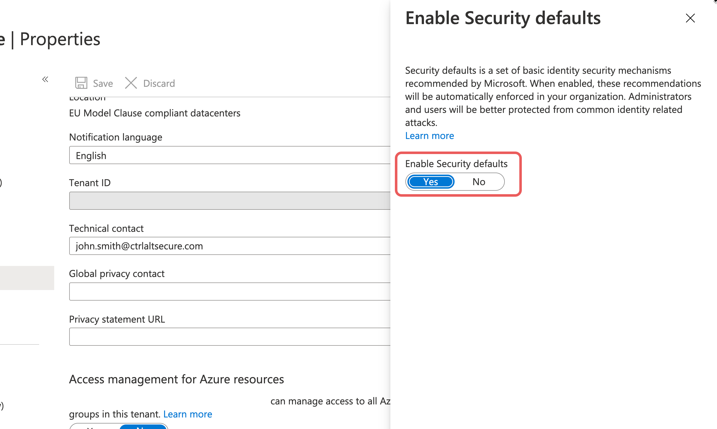 M365-enable-security-defaults