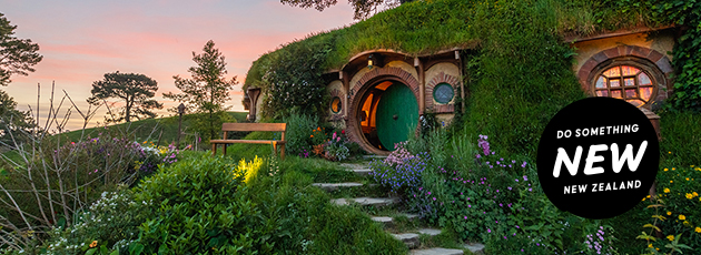 Hobbiton websitebannertile