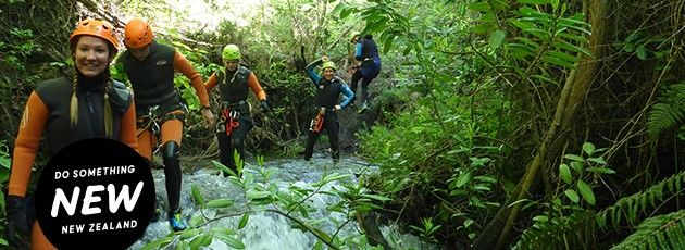 Canyoning nz web banner