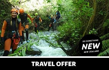 Canyoning nz web offer tile