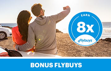 Flybuys europcar x8 web offer tile fasb