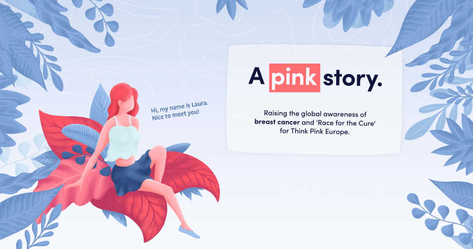 A pink story image