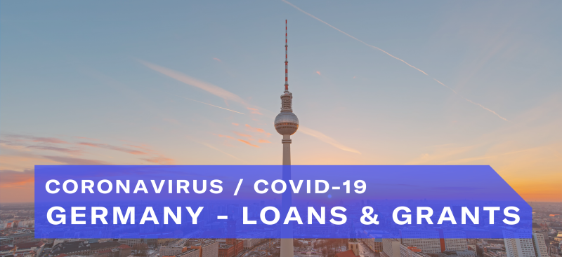 Germany​ — Loans & Grants Coronavirus / COVID-19
