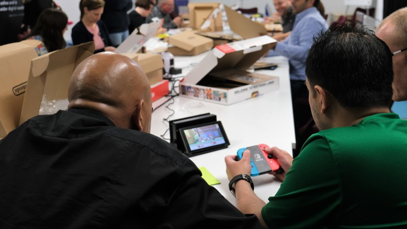 By joining the programme, Schoolhouses have access to a network of teaching resources, including Nintendo LABO kits. Image credit: Digital Schoolhouse
