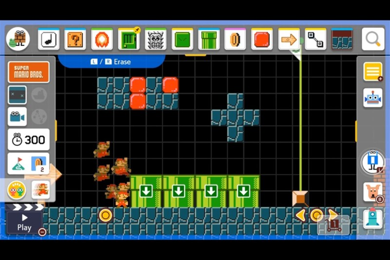 Digital Schoolhouse is known for its free, innovative, playful workshops. In this example, students are taught how to create Super Mario levels that require the player to carry out binary conversions and calculations in order to complete the level.