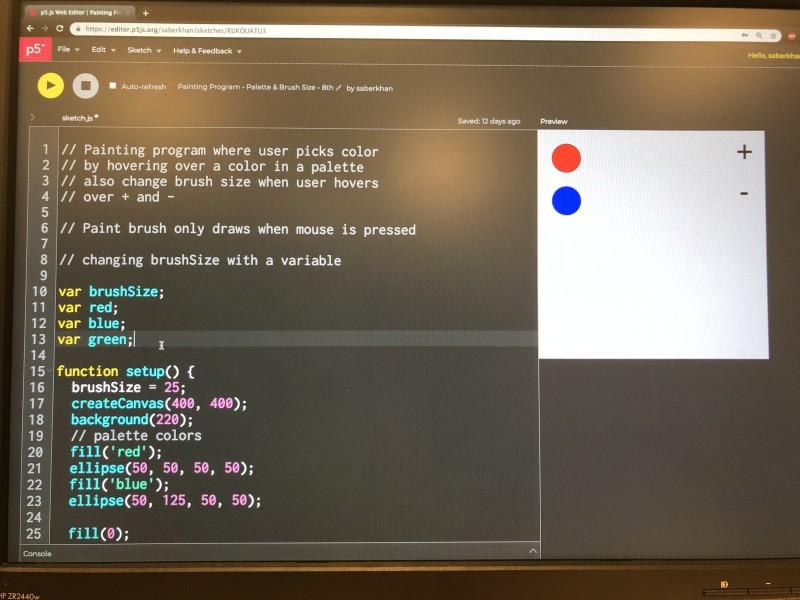 Creative Coding With P5 Js Hello World