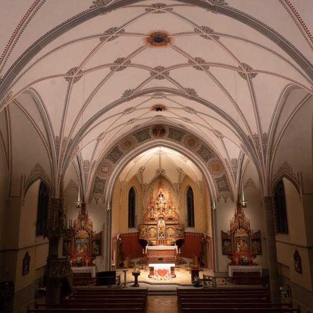 Lichtszene St. Margrethen Decke