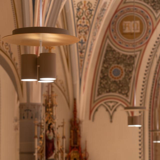 Lichtszene St. Margrethen Leuchte gross