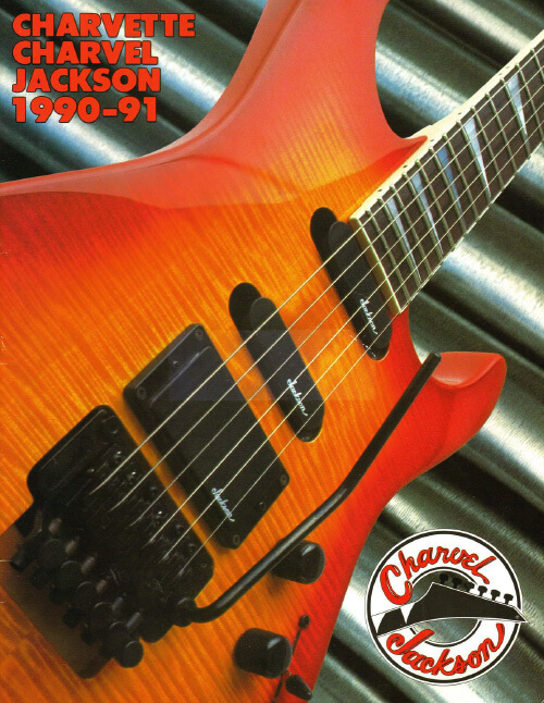 2002 JACKSON Electric Guitar CATALOG Full Color **NEW**