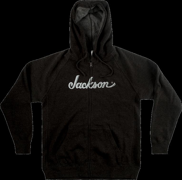 Jackson Guitars Logo Pullover Hoodie Hooded Jacket Sweats Black Custom Hoodie