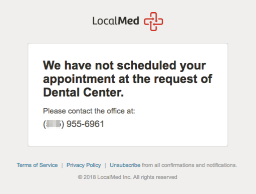 localmed-blacklist-patient-notification