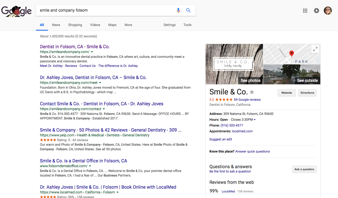 The easiest way to get Google to notice your dental practice