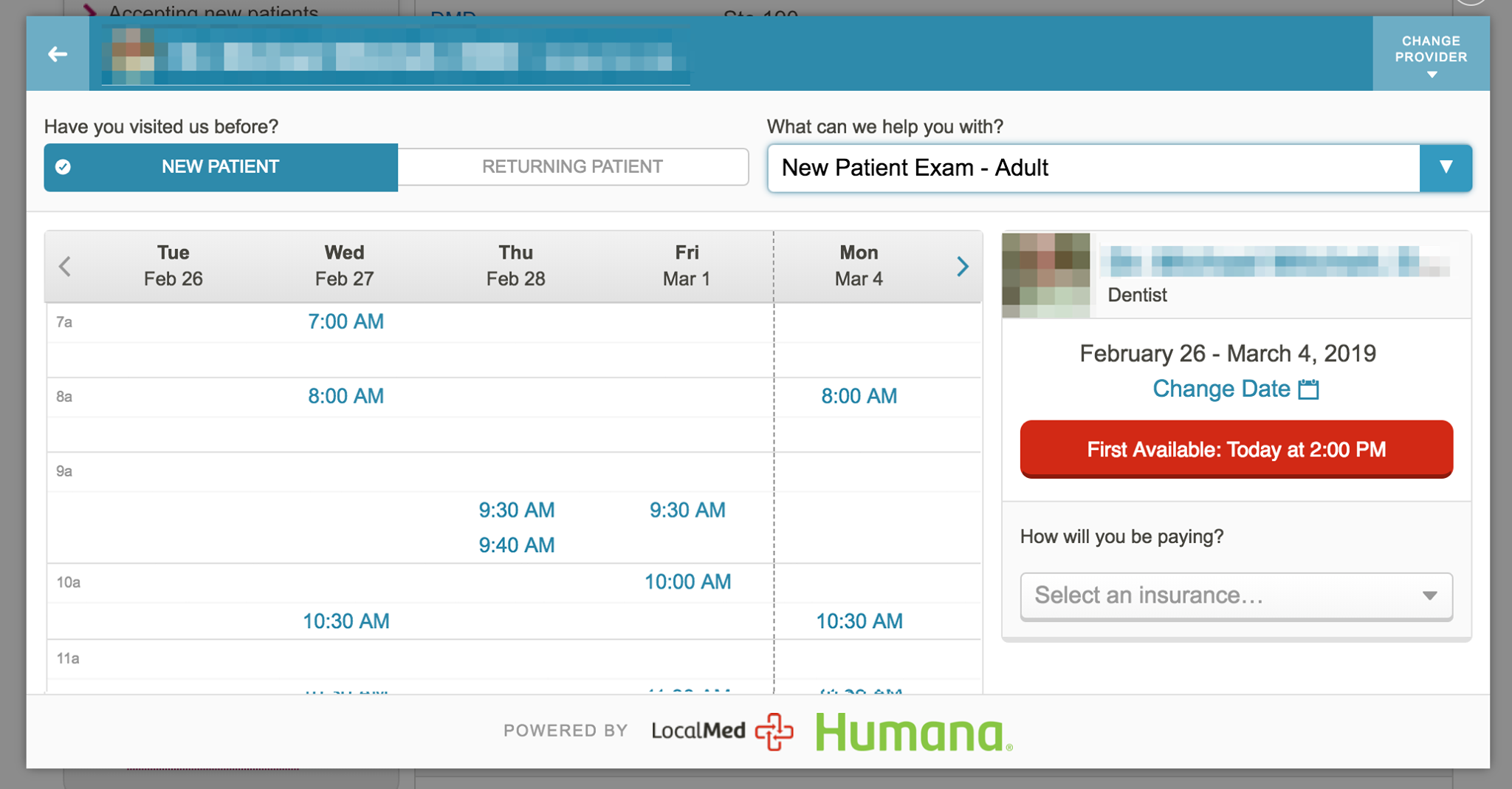LocalMed, LLC Partners With Humana to Enable Seamless Dental Appointment Scheduling