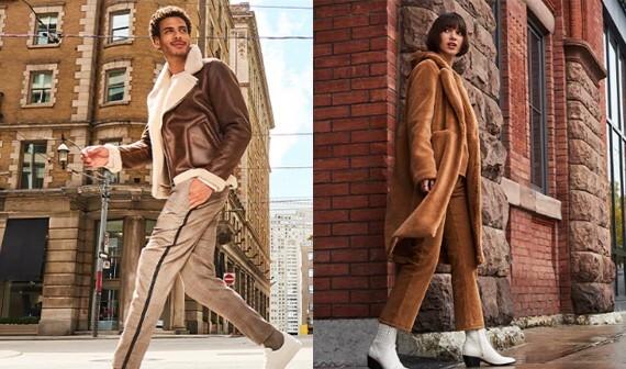 Hudson's Bay Jusqu'à 25 % de rabais sur les vestes pour hommes et femmes.