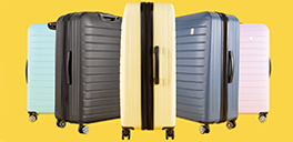 Travel in style with luggage at $99.99 and less at ShopBentley.com!