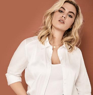 Addition Elle White Shirt