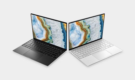 dell black laptop, dell silver laptop