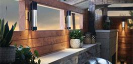 ylighting outdoor lighting with wooden walls
