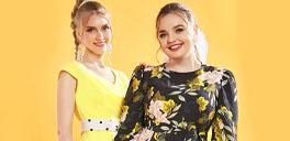 rosegal models wearing rosegal dresses