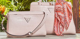 pink guess purses