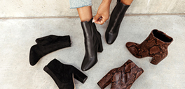 woman wearing boots from aldoshoes.com