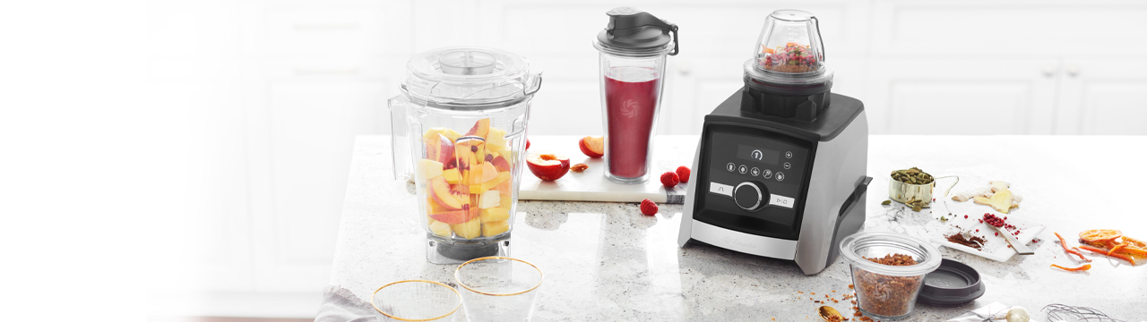 vitamix ascent blender and attachments