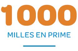 1000 Bonus Miles