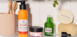skincare at the body shop