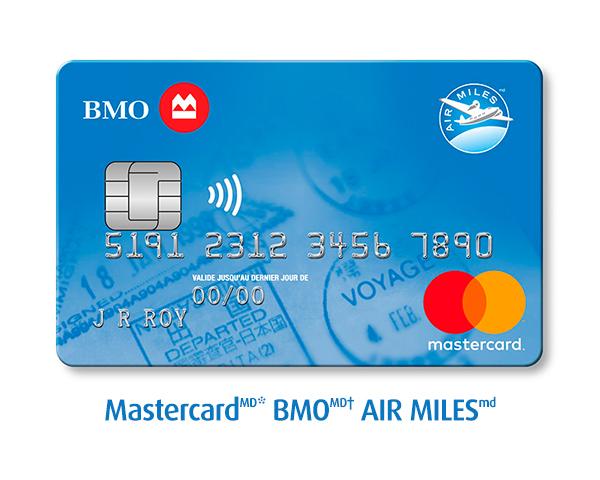 les cartes de crédit AIR MILES