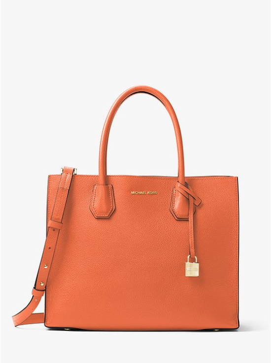 Michael Kors Mercer Leather Tote