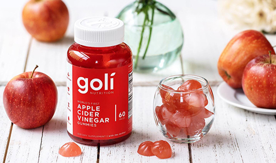 Goli Apple Cider Vinegar Vitamins