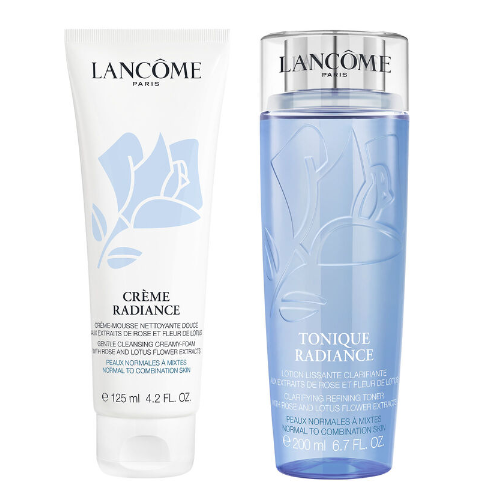 Radiant Skincare Bundle! Save $19 when you purchase a Tonique Radiance Toner 200ml + Crème Radiance Cleanser 125ml set