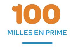 100 Bonus Miles