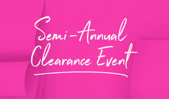 tsc semi-annual clearance event